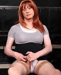Lucimay is encaged and punished by her master