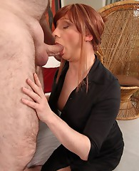 Luci May enjoys a bit of special guest service, and she was fully prepared to get on her hands and knees and work for it