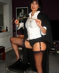 Strapon Jane spanks tgirl until she's red raw